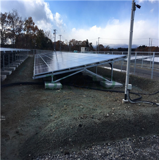Ground pv mounting system